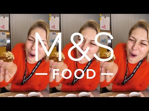 Emma Willis tries M&S Christmas food  | M&S FOOD