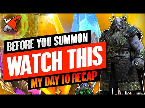 WHICH SHARDS SHOULD YOU USE? | Underpriest Brogni Day 10 Recap | BGE's Guides | RAID: Shadow Legends