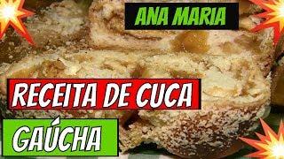 ➡️➡️Programa Mais Voçê 02/05/19➡️➡️ Receita de Cuca Gaúcha Ana Maria Braga Hoje #maisvoçê