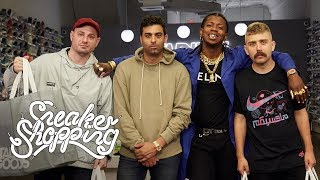 Full Size Run Goes Sneaker Shopping With Complex