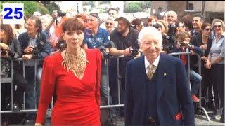 Principe Sforza Ruspoli e Giovannelli con Elsa Martinelli - Video Matrimonio Valeria Marini