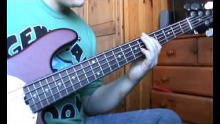 Kings of Leon - Revelry bass cover - Nick Latham