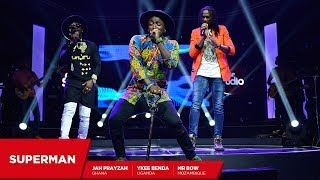 Jah Prayzah, Mr. Bow and Ykee Benda: Superman - Coke Studio Africa width=