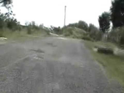 Caida en bici