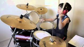Dark Horse - Katy Perry ft. Juicy J - Drum Cover By 10 Year Old Joh Kotoda