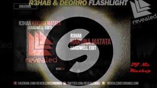 Hakuna Matata Vs Flashlight Vs Under Control (Hardwell Mashup)