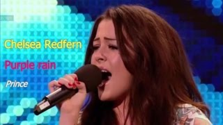 Chelsea Redfern - Purple rain - Britain's Got Talent 2012
