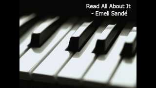 Read All About It (Part 3) - Emeli Sande (Piano Cover) [CHORDS IN DESC]