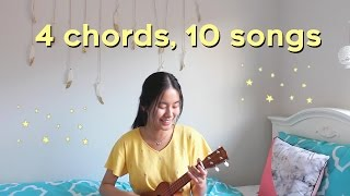 1 Girl, 4 Chords, 10 Songs 🎵 (Ultimate Ukulele Mashup)