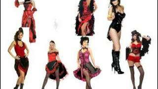 Moulin Rouge Fancy Dress Costumes - Inspiration
