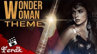 """BvS - """"Is She With You (Wonder Woman Theme)""""【Symphonic Metal Cover】 by Ferdk"""