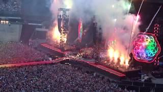 Coldplay - Head full of dreams (final) LIVE PARIS 18/07/2017