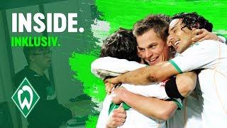 Werder jubelt mit Pizarro – alle gemeinsam für Inklusion | WERDER.TV Inside vor VfB Stuttgart