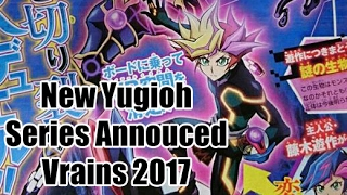 Yugioh 6th Anime Revealed: Vrains ~ Yusaku Duels In Cyber Space?