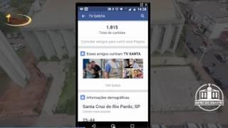 Tutorial como convidar amigos para curtir sua pagina no facebook pelo celular outubro 2016
