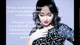 Regina Spektor - The Call Lyric/Letra Ingles/Español
