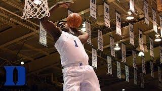 Duke's Zion Williamson Goes Off Against Clemson