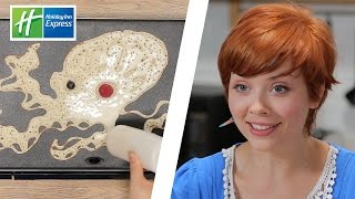 Real Artists Try Pancake Art // Presented By BuzzFeed & Holiday Inn Express width=