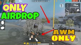 Only AWM Sniper Challenge in Garena Free Fire - Desi Gamers (Hindi)