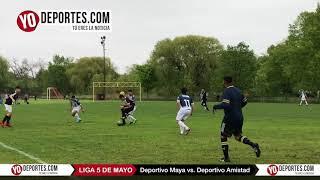 Deportivo Maya vs Deportivo Amistad Liga 5 de Mayo