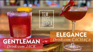 2 MELHORES Drinks com CACHAÇA e com JACK DANIELS