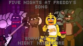 Nightcore- Survive the night SONG
