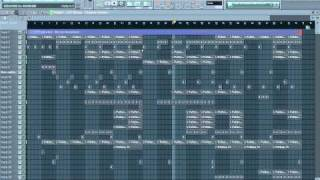2011 Aggressive Rap Piano Beat/Instrumental (FL Studio 10!)