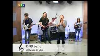 DND band - Because of You (Skunk Anansie Cover)
