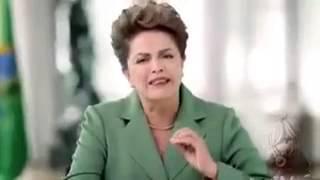 Dilma fala que brasileiro tem que levar pênis no cu!