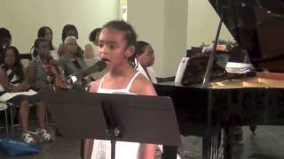 """""""There Is A Season"""" by Sonja Poorman and Bertha Poorman, sung by Suutume Negash"""