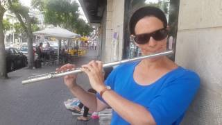 Hatikvah : Israel National Anthem : flute - Jewish Religious Music