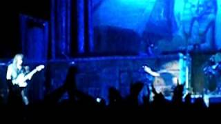 Iron Maiden Wasted Years. Live in Sunrise Fl. 2009
