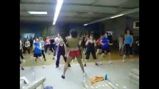 Hilarious French Zumba Instructor! Funny! Part 2