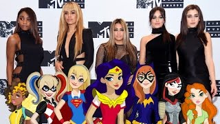 EXCLUSIVE: Fifth Harmony Teams With 'DC Super Hero Girls' for New Girl Power Music Video!