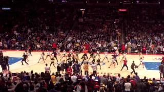 Clippers Spirit & Fergie Performance LA LOVE