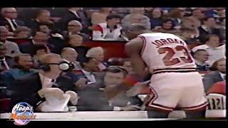 Michael Jordan vs Johnny Red Kerr's Pre-Game Rituel!