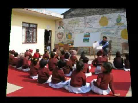 Lesgeven in Nepal