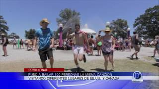 Baile viral en YouTube