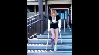 Red Lobster On Crutches