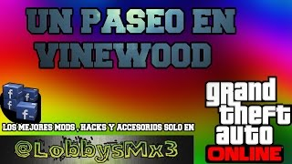Un paseo en vinewood Gta 5 online  video musical - cover gta v