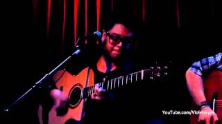 "Andrew Garcia, Full Acoustic Version ""Straight Up"" Room Five, L.A."