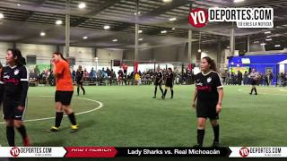 Final Femenil Lady Sharks vs Real Michoacán AKD Premier Academy Soccer League