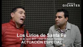 Los Lirios de Santa Fe - 19 de junio de 2017 CAMPANA