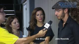 Entrevista Ana Bacalhau Ana Moura Julio Resende