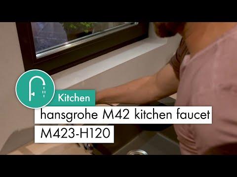 hansgrohe M42 kitchen mixer M423 H120