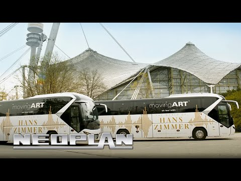 movingART and NEOPLAN Tourliner on tour with The World of Hans Zimmer