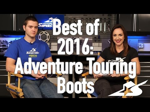 Best of 2016: Adventure Touring Boots
