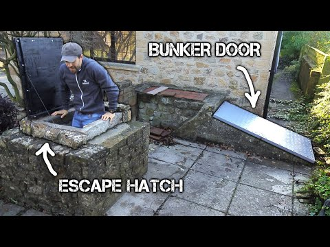 Renovating the Abandoned WW2 Bunker in my Garden   FULL BUILD