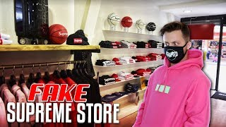 There's a Fake SUPREME Store In Europe! (My Reaction)