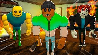 My Character is in the GAME!! (Roblox Bakon Chapter 4)
